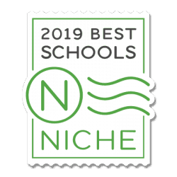 Logo badge for 2019 Best Schools-Niche