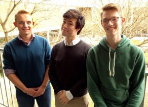 three boys in all-state choir