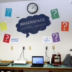 The Learning Leopard Library's new MakerSpace – the perfect place to bring dreams to life