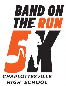 "CHS ""Band on the Run"" 5K logo"