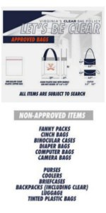 JPJ Clear Bag Policy