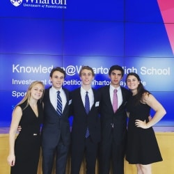 CHS students at the Wharton School