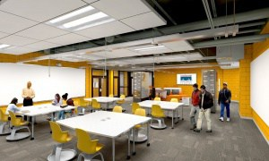 Renovated lab spaces at CATEC support the new IT partnership with CISCO.