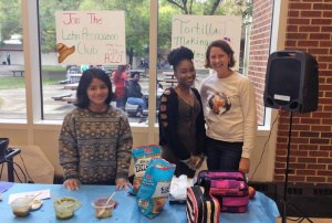 Latino Student Association holds salsa-tasting event during lunch