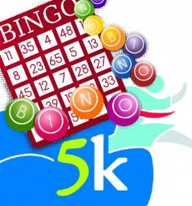 logo for bingo and 5K