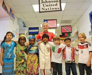 International Day at Johnson