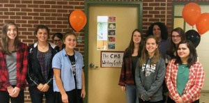 Opening of the CHS student-run writing lab.