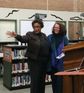 Outgoing vice chair and chair, Leah Puryear and Amy Laufer