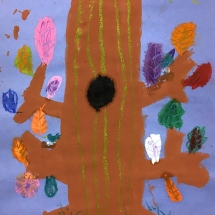 art by Burnley Moran first grader Sophie