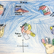 Artwork by Clark Elementary 3rd Grade Student, Alex