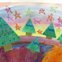 Art by Greenbrier Elementary School art student Colleen, 2nd grade