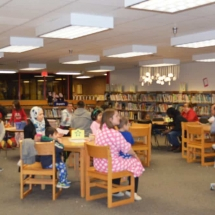 A Photo from the Jackson-Via Literacy Night , January 2017