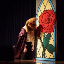 Photo of the Stage Left Theatre production of Beauty and the Beast