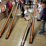 Jackson Via Elementary Math & STEM Night: Hot Wheel Angled Racing Demonstration