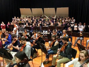 CHS symphony concert and fine arts showcase involving more than 250 students!