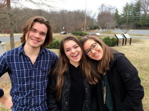Charlottesville High School students Parker Sullivan, Brianna Ramirez, & Leah Patek have earned All-VA Choir honors!