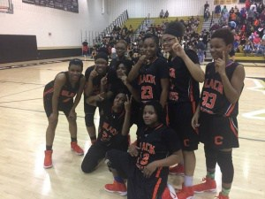 Girls' Basketball Team wins Regional Championship and will advance to the State Quarterfinals (2017)