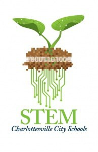 Logo for STEM @ Cville Schools