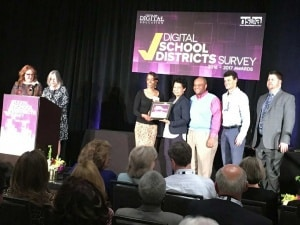 Digital Schools award 2016-17 in Denver, CO.