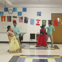 Dances from all over the world at Buford International Night 2016