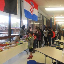 Delicious foods from all over the world at Buford International Night 2016