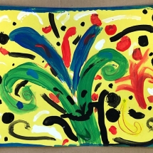 artwork by Burnley Moran Kindergartener Corrie