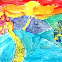 Landscape by Venable Elementary School 4th grade student