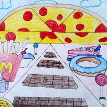 drawing by Walker 6th grader