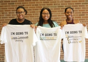 3 AVID seniors participate in college 'Decision Day'