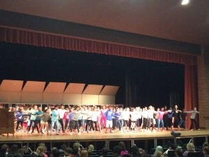 Walker 5th-graders zumba for El Espectaculo!