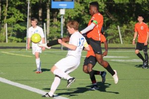 12-0 CHS boys' soccer vs Western Albemarle. Courtesy Scrimmage Play/Bart Isley.