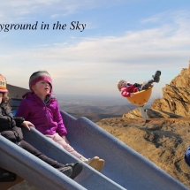 student advertisement project entitled playground in the sky