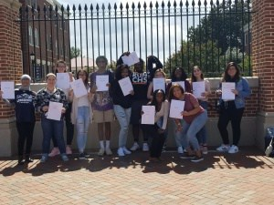 18 AVID seniors were admitted to Longwood University.