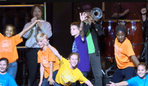 Minds in Motion dance troupe performing at The Paramount Theatre of Charlottesville.
