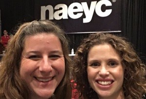 Two teachers from CCS presented at the NAEYC in Atlanta, GA.
