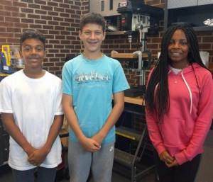 Students in Buford engineering program.