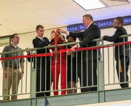 Ribbon-cutting! Photo courtesy CFA Institute.