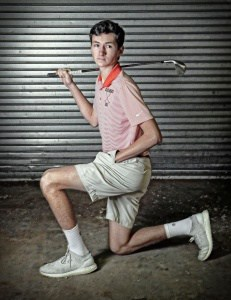 Golfer A.J. Stouffer, P/C Andrew Shurtleff, Daily Progress