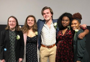 "Photo of CHS's 2018 ""Rising Star"" award-winners"