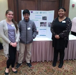 Buford students present project at Public Education Foundation Luncheon at the Boar's Head Inn.