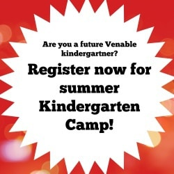 Kindergarten Camp graphic