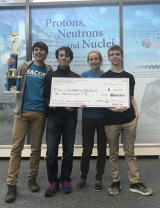 #2 in VA at Jefferson Lab Science Bowl