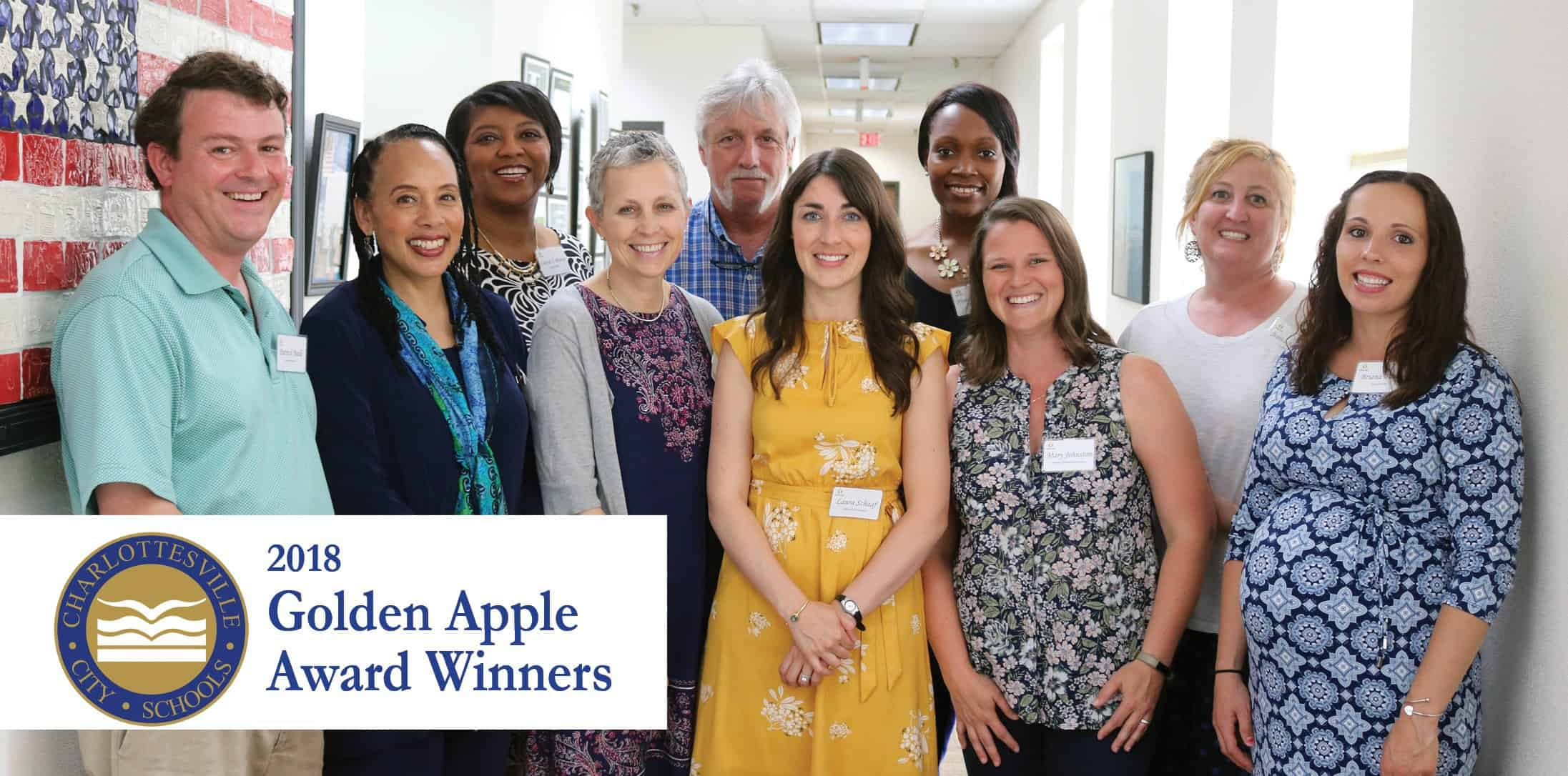 2018 Golden Apple Award winners