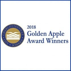 Graphic: Golden Apple Awards with border