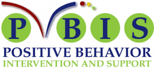 logo for PBIS (Positive Intervention Behavior and Supports)