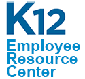 Logo for K12 Employee Resource Center