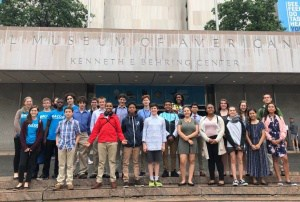 Buford engineers present at the Smithsonian in D.C.