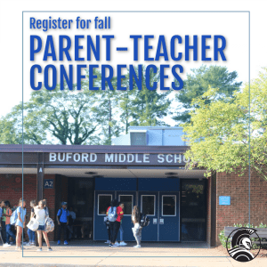 graphic for parent-teacher conferences