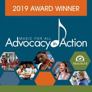 Advocacy in Action Award winner badge