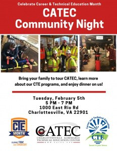 Flyers advertising CATEC open houses